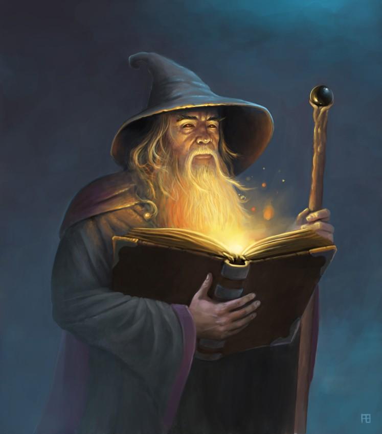 De Gandalf à Qadehar en passant par tout leurs compagnons. Les Praticiens des Arts Occultes. Wizard10