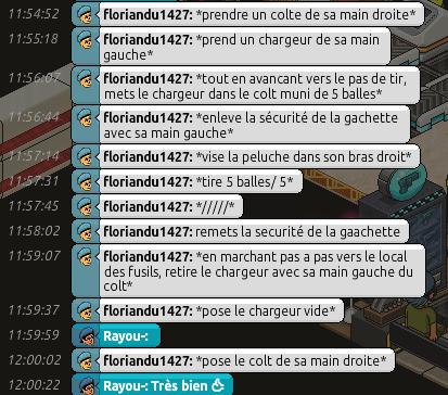 Rapports d'action RP de Rayou- Rappor43