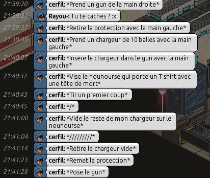 Rapports d'action RP de Rayou- Rappor61
