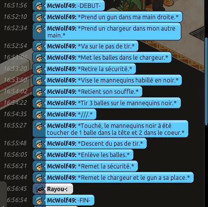 Rapports d'action RP de Rayou- Rappor66