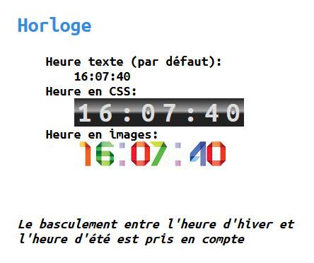 Horloge/compte à rebours avec personnalisation Tuto-h10