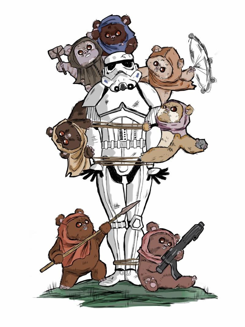 Zeigt her eure Star Wars Tattoos  - Seite 3 Ewoks_10