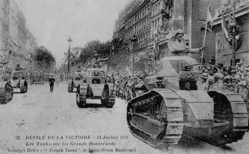 14 juillet 1919 Tank1910