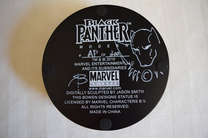 """PANTHERE NOIRE """"museum / modern"""" (Black Panther) Dsc_0013"""