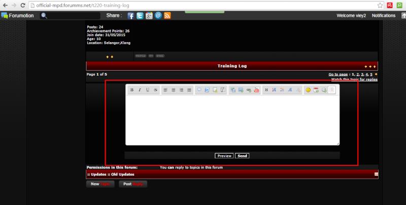 kepada Trainer Yg xtw cammane nak update selepas Train New Staff...sini ade cara2 untuk update.. Screen25