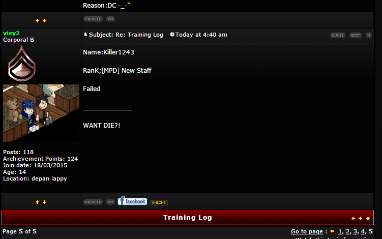 kepada Trainer Yg xtw cammane nak update selepas Train New Staff...sini ade cara2 untuk update.. Screen32