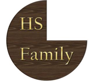 Logo HS Family ! Bois10