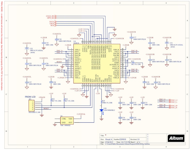 DAC ES9018 - Pcb Weiliang Page310