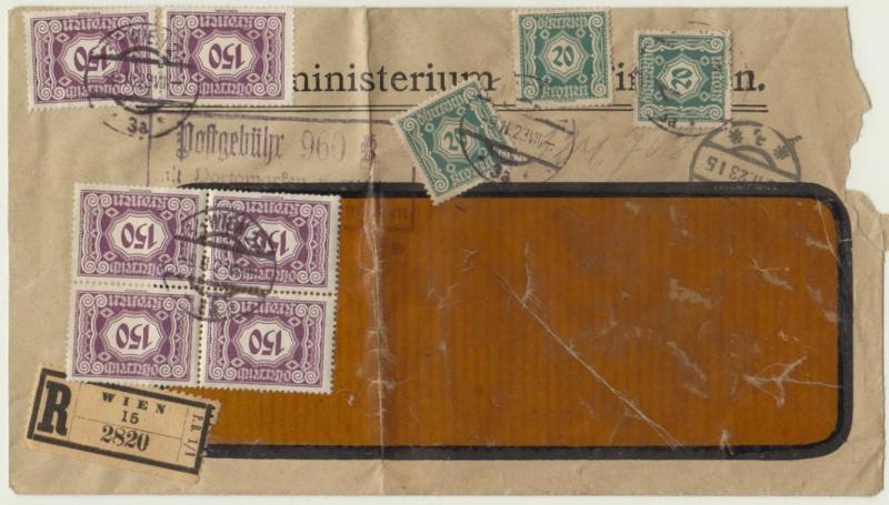 Inflation in Österreich - Belege - 1918 bis 1925 - Seite 5 Portom10