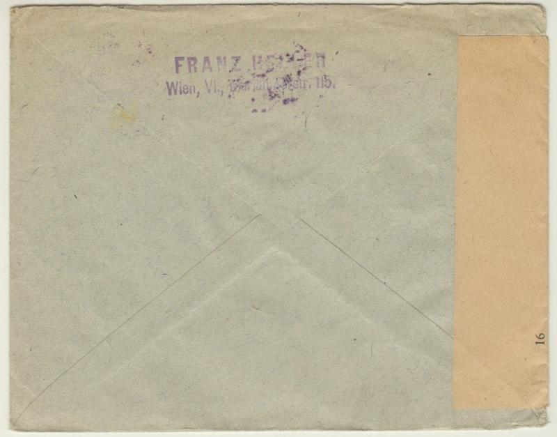 nach - Devisenkontrolle im Deutschen Reich nach Ende des 1. Weltkrieges Wien_212