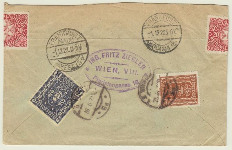 nach - Devisenkontrolle im Deutschen Reich nach Ende des 1. Weltkrieges Wien_214