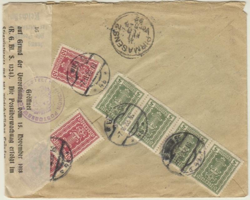 Devisenkontrolle im Deutschen Reich nach Ende des 1. Weltkrieges Wien_712