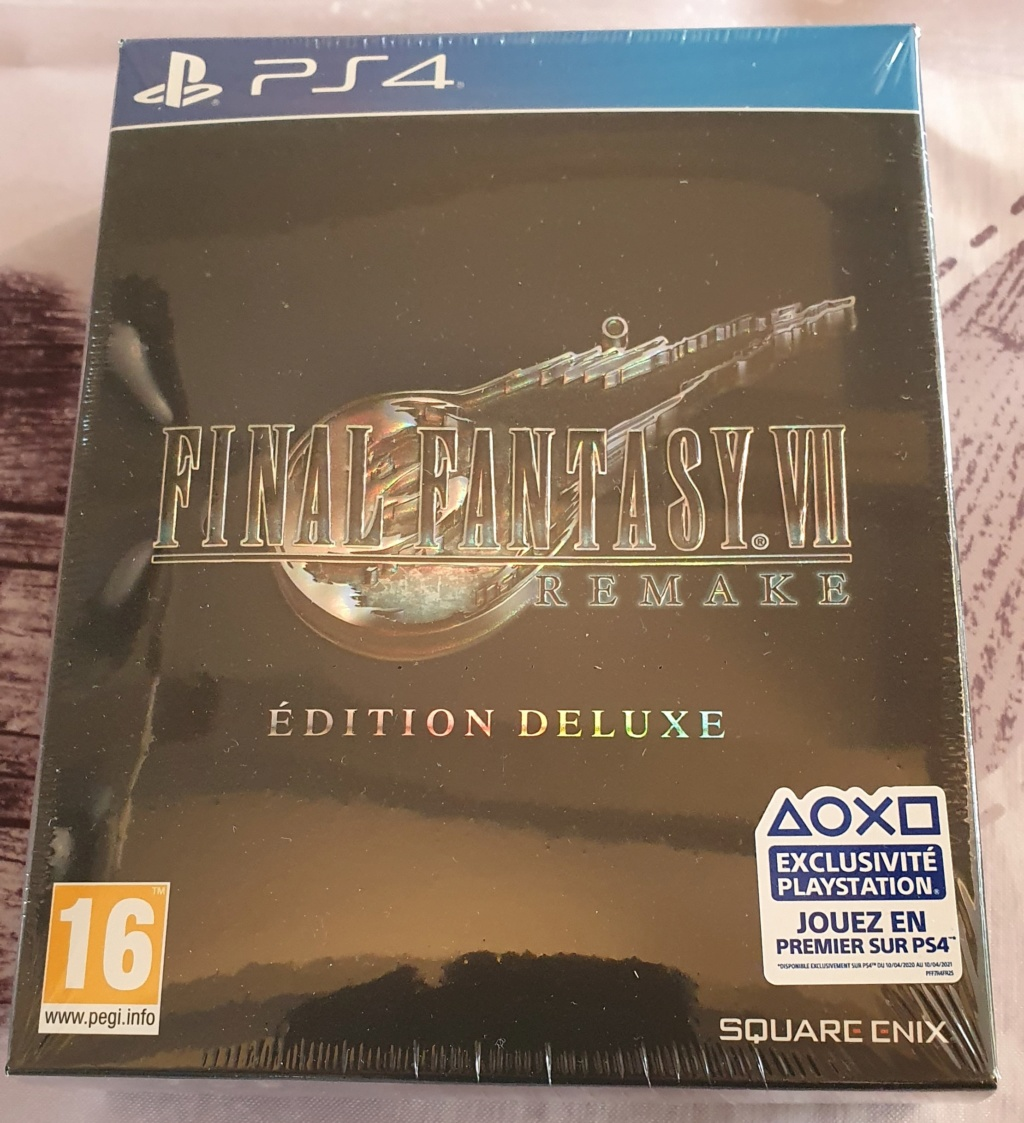 [VENDU] Final Fantasy VII REMAKE edition DELUXE 20200414