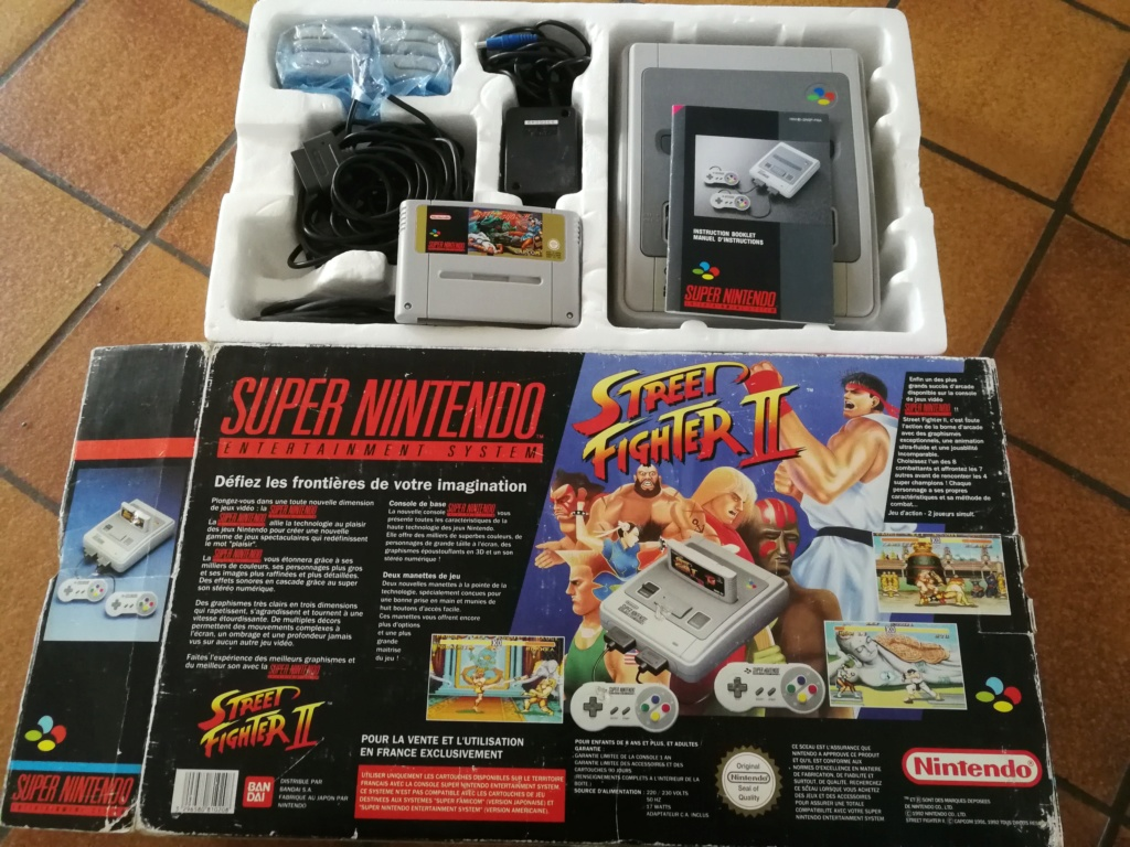 Super Nintendo Pack Street Fighter II - console Switchless CIC Img_2117