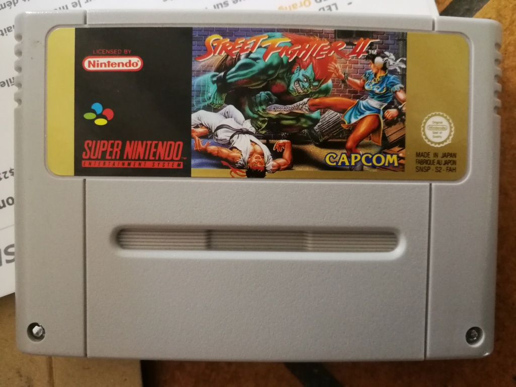 Super Nintendo Pack Street Fighter II - console Switchless CIC Img_2120