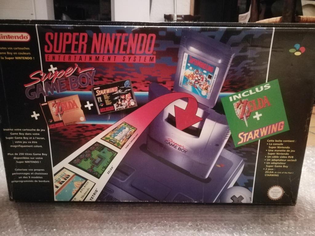 [ACH] Pack Super Nintendo : Starwing & Zelda 3 & super game boy (PAL FRA) Img_2263