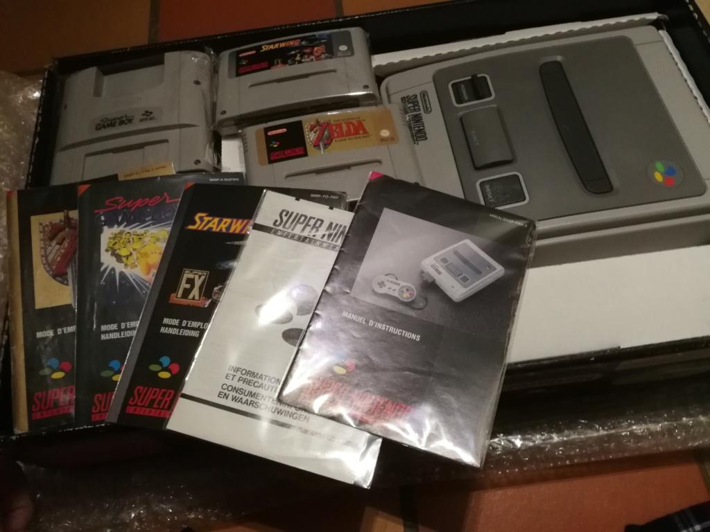 [ACH] Pack Super Nintendo : Starwing & Zelda 3 & super game boy (PAL FRA) Img_2264