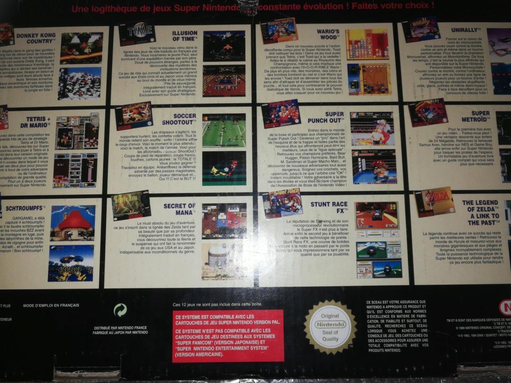 [ACH] Pack Super Nintendo : Starwing & Zelda 3 & super game boy (PAL FRA) Img_2265