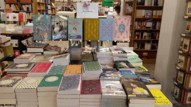 Jane Austen dans les librairies Gibert10