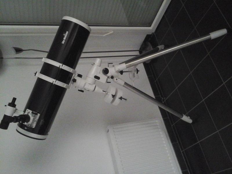 Utilisation Télescope Skywatcher 200/1000 EQ5 20150613