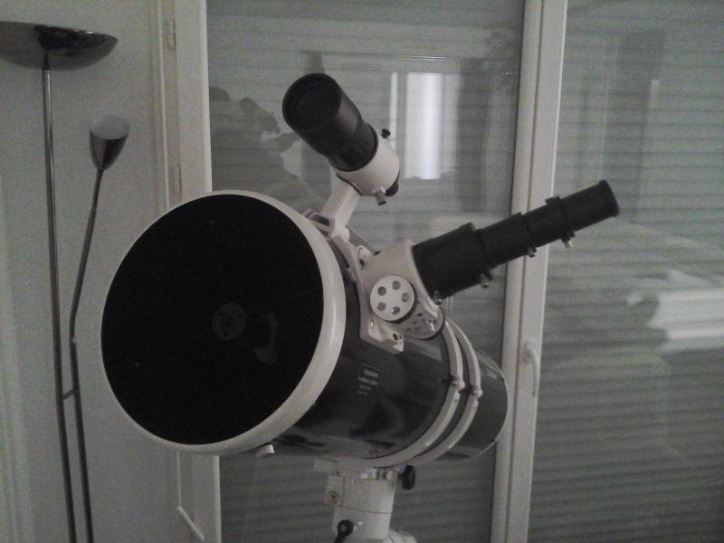 Utilisation Télescope Skywatcher 200/1000 EQ5 20150615