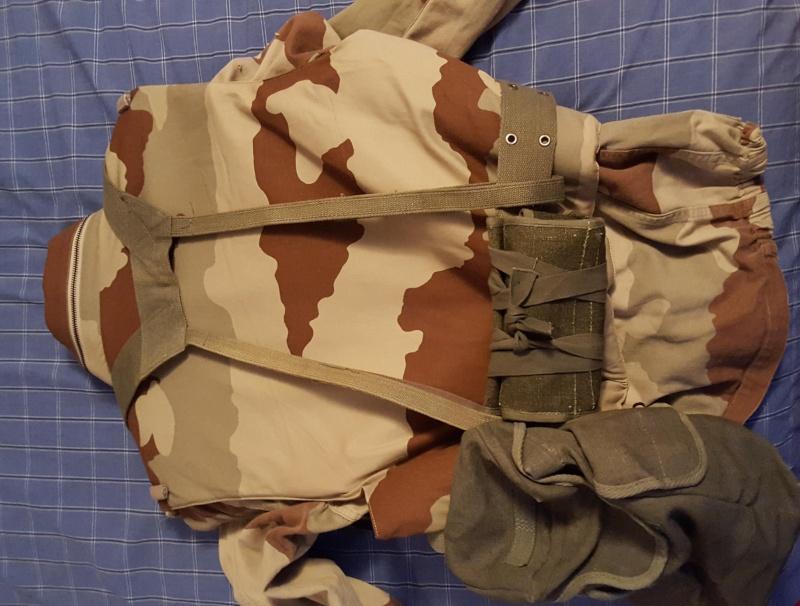 French Gulf War Flak Vest and Web Gear 20150718