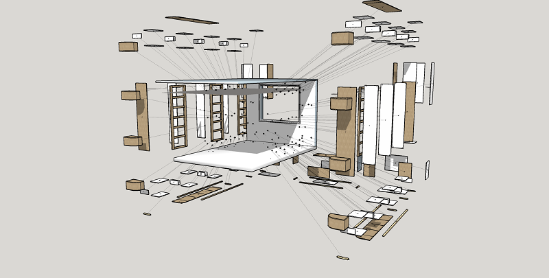 animations sketchup Dressi11