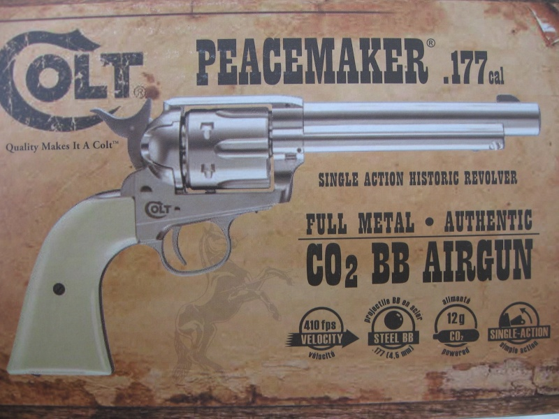 Colt Peacemaker - Single Action Army SAA Umarex 2210