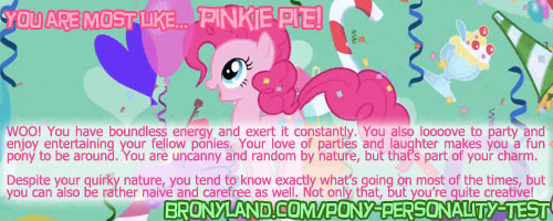 Pony personality test Most_l10