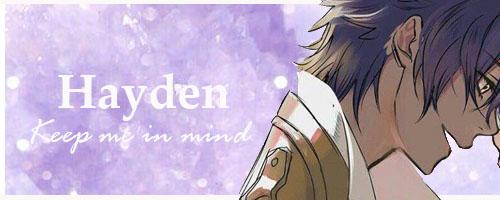 < RP > - Gone -  Hayden10