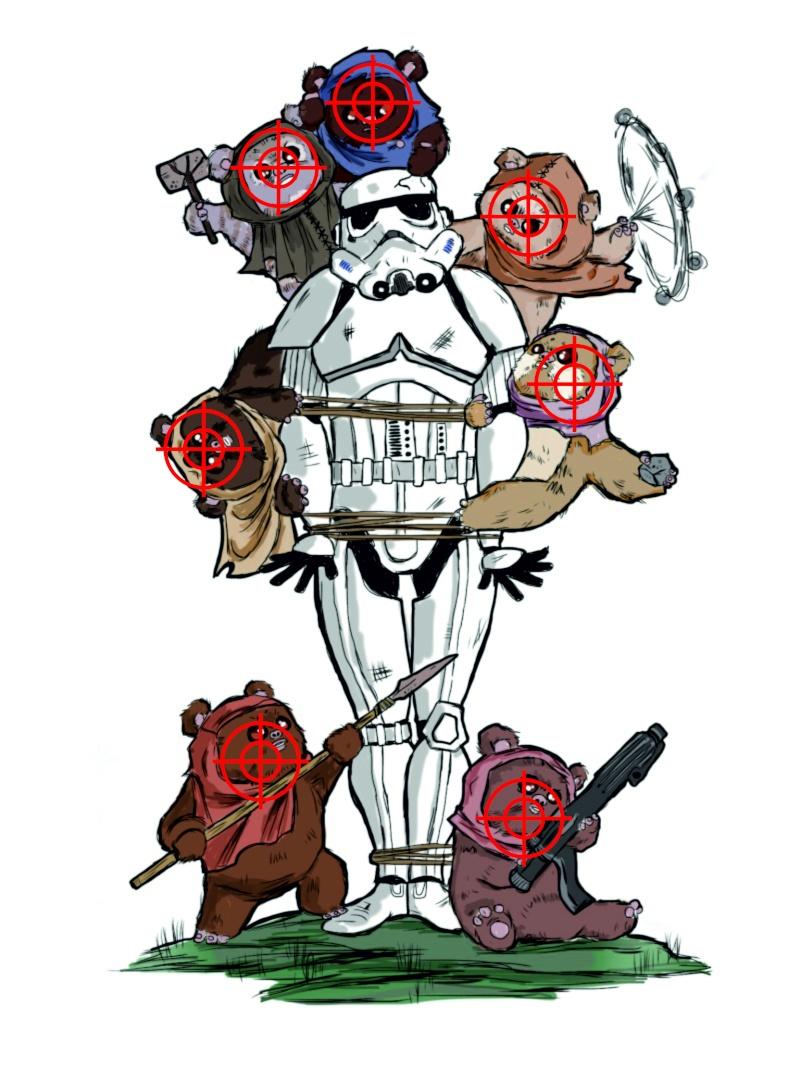 Zeigt her eure Star Wars Tattoos  - Seite 3 Ewok_t10