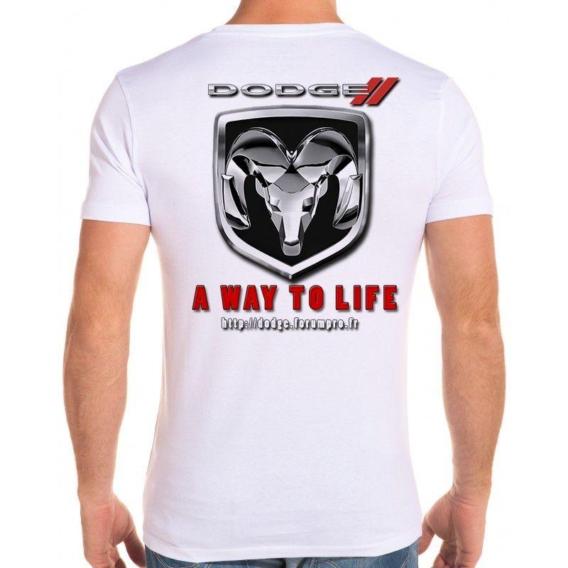 T-Shirt Dodge personnalisé - Avis ?  Tshirt10