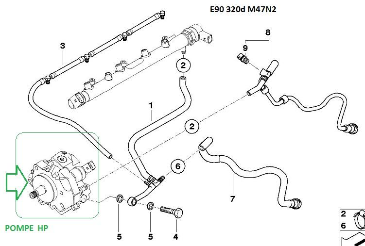 [ BMW e90 320D M47N2 an 2007 ] Ne redémarre pas chaud (résolu) - Page 2 13_e9010