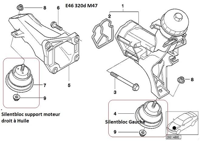 [ BMW e46 320d an 1999 ] boite accrocheuse, support moteur / boite / embrayage ? 22_e4610