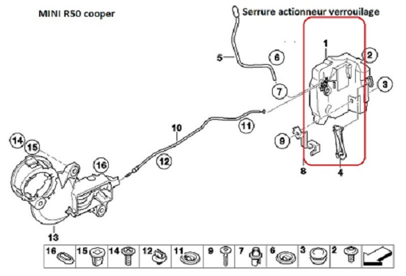 [ Mini cooper R50 an 2002 ] Problème centralisation et télécommande (Abandonné ) 51_blo11