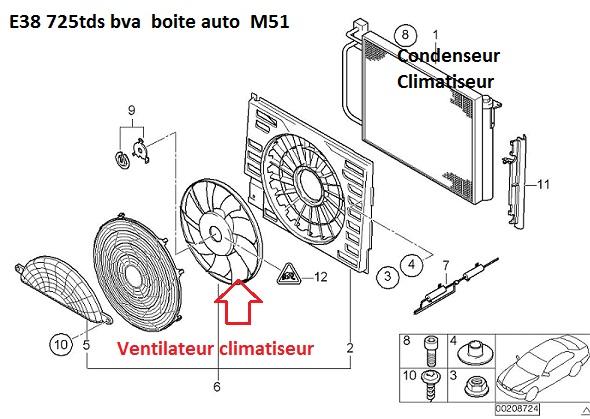 [ Bmw E38 725tds M51 Bva an 1997 ] Surchauffe moteur (résolu) 64_e3910
