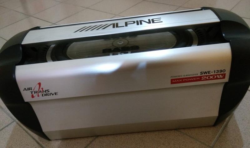 Alpine SWE-1390 Subwoofer (SOLD) Img_2010
