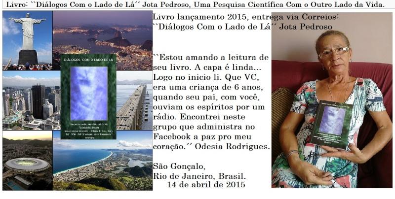 Livro: DIÁLOGOS COM O LADO DE LÁ, Jota Pedroso. Uma pesquisa científica com o outro lado da vida Livro_11