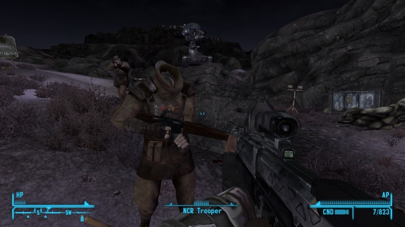 Weirdest glitch you have seen in a fallout game 2015-011