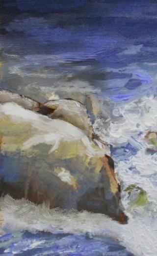 Painting #116: Hoblitzelle Park in Plano, Texas Faisal11