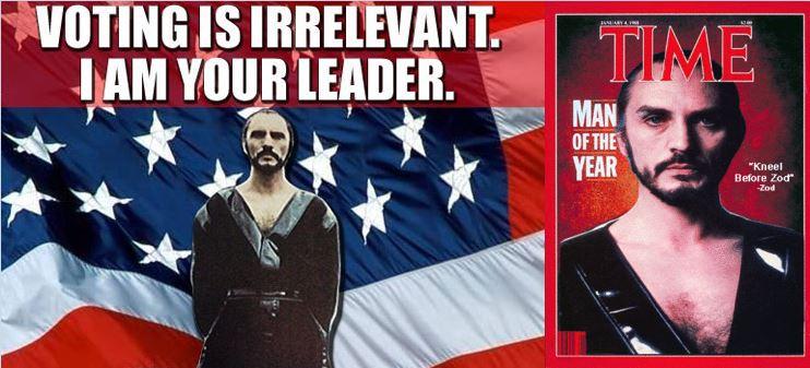 Zod se présente aux élections présidentielles (VOSTFR) Kneel-10