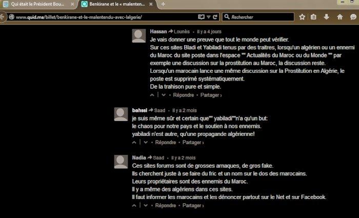 Commentaires de memebres Yabiladi et Bladi Yabila12