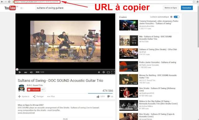 Tutoriel 5: Comment insérez une vidéo Youtube ou Dailymotion Youtub10