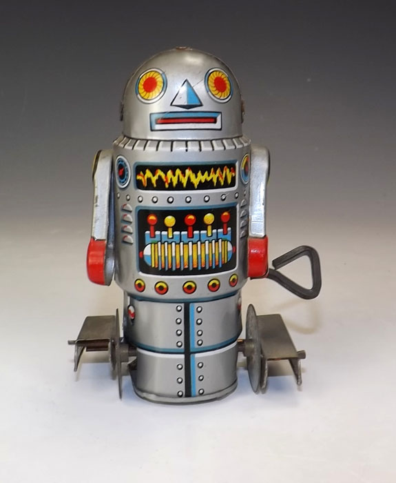 Robots jouets vintages - vintage robot toys 07221510