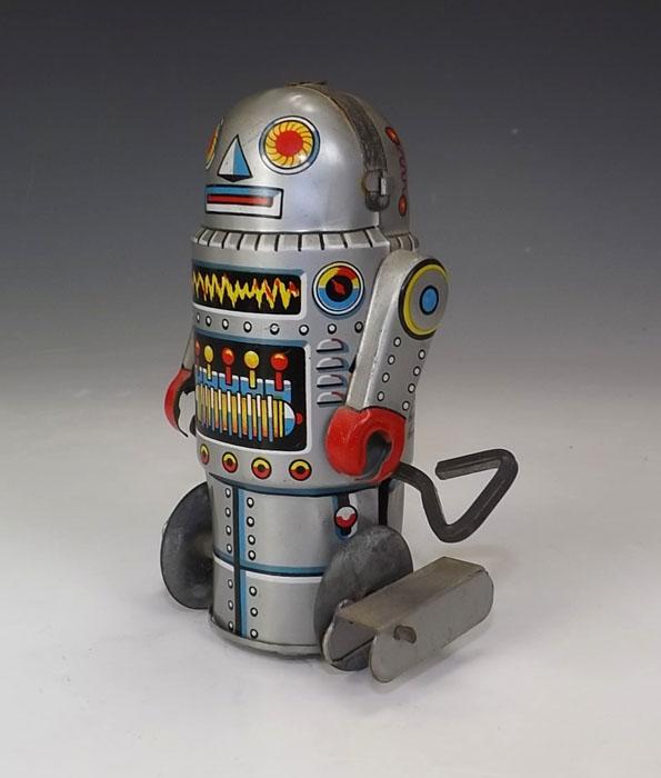 Robots jouets vintages - vintage robot toys 07221511