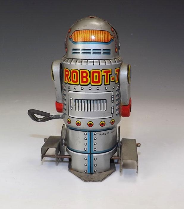 Robots jouets vintages - vintage robot toys 07221512