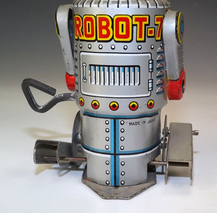 Robots jouets vintages - vintage robot toys 07221513