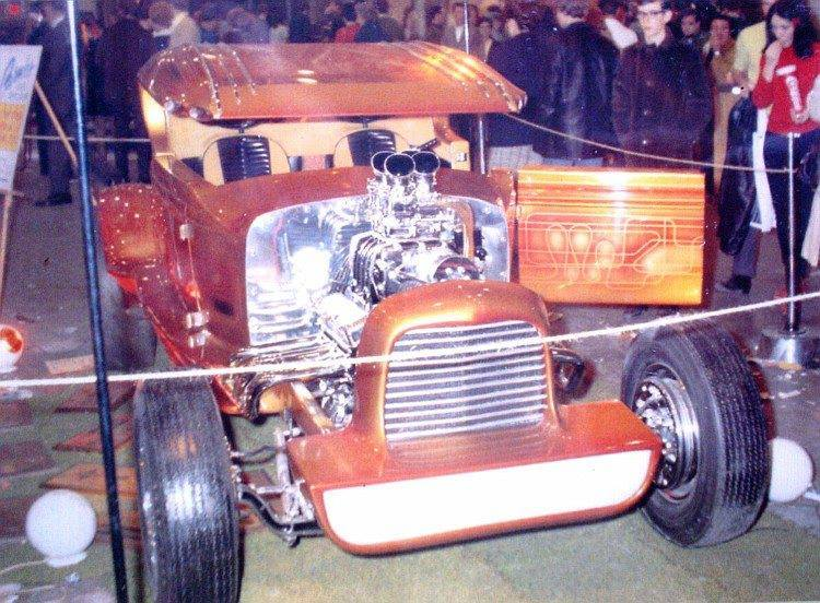Cantilevered Coupe - Dave Pulh - 1930 Model A 10407210