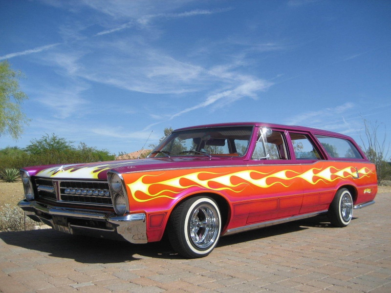 Pontiac 1963 - 1967 custom & mild custom 1105