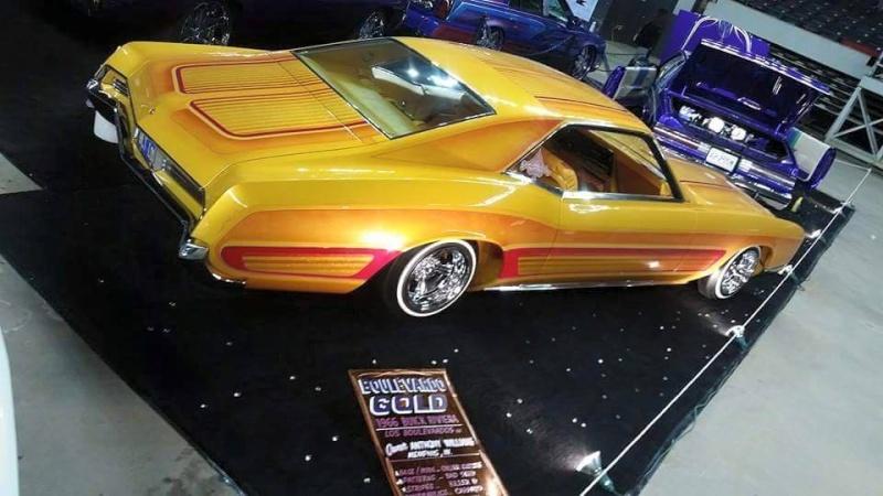1966 Buick Riviera - Bouvardo gold - Los Boulevardos CC 11149310